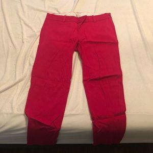 Pink work pants